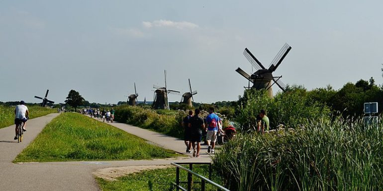 Windmills of Kinderdijk, The Netherlands