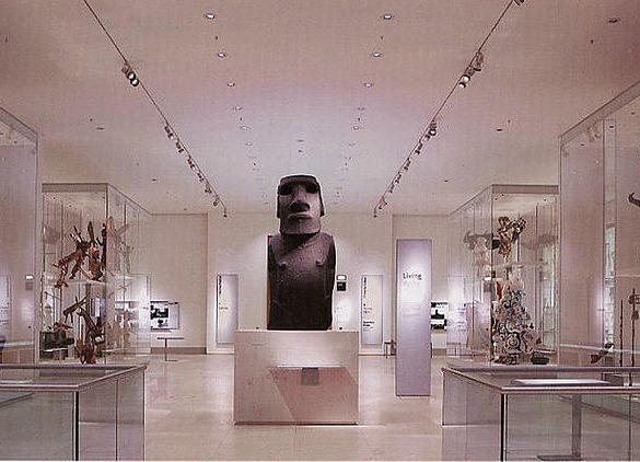 Moai at the British Museum,