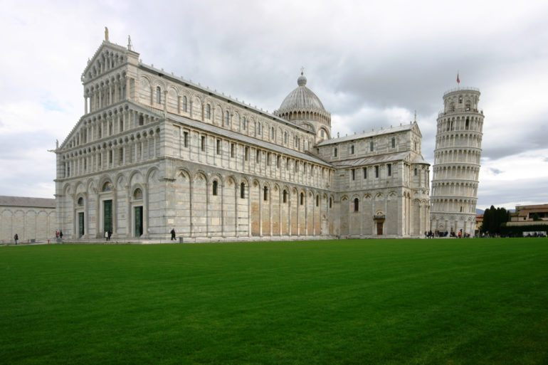 Cathedral, and Tower of Pisa