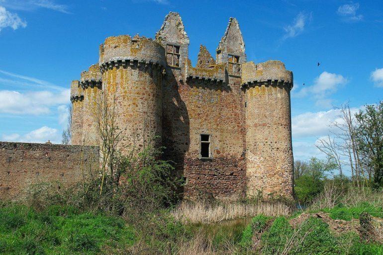 Château de l'Ebaupinay, France