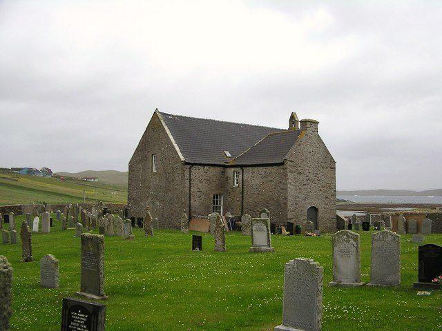 Whalsay Kirk, Shetland