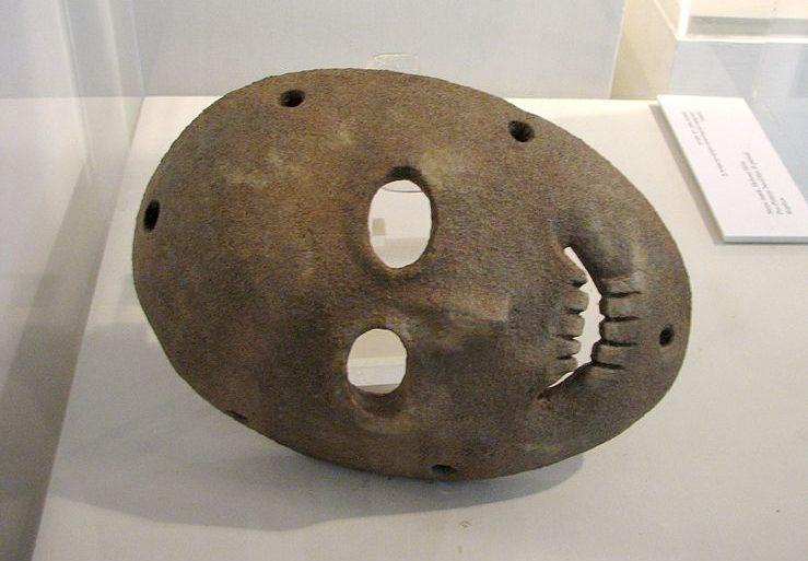 Stone mask neolithic