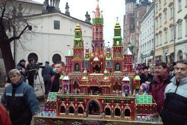 Szopki parade Krakow, Poland
