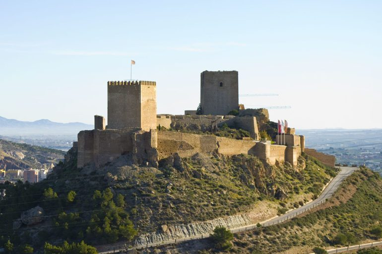 Castillo de Lorca (Lorca Castle), Spain