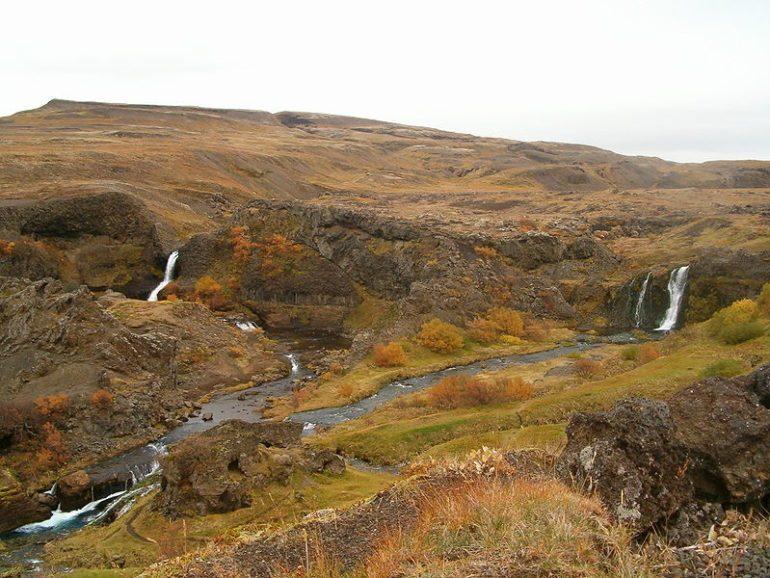 Gjáin, Þjórsárdalur-vallei, IJsland