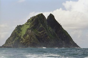 The island of Skellig Michael