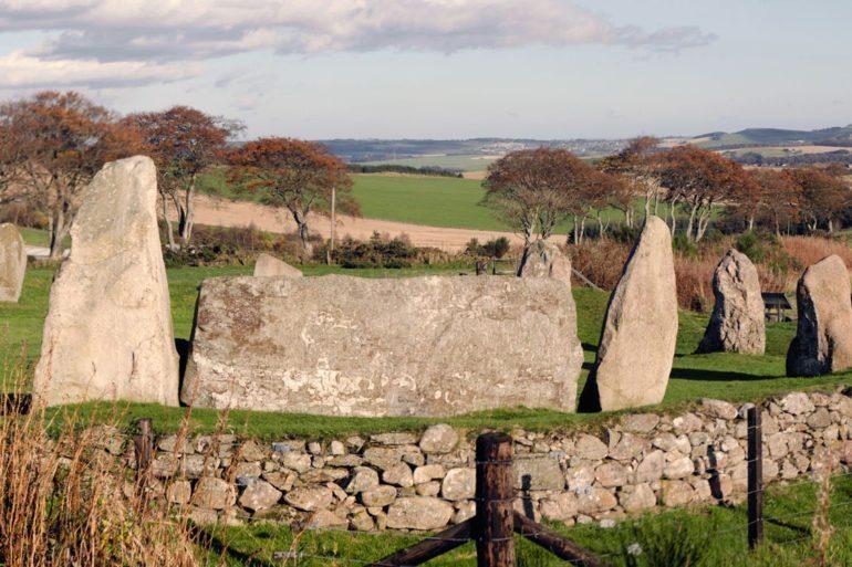 Recumbent stone circle, Scotland