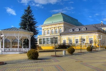 Františkovy Lázně city centre, Czech Republic