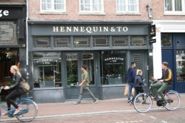 Historical store front in Amsterdam Image: IVEM