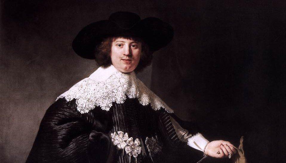 Portrait of Marten Soolmans Image: Rembrandt van Rijn