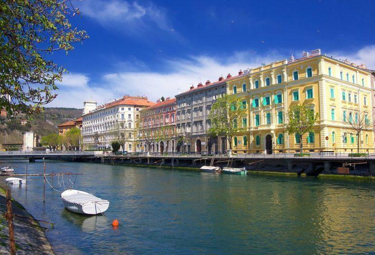 River Rječina Rijeka, Croatia