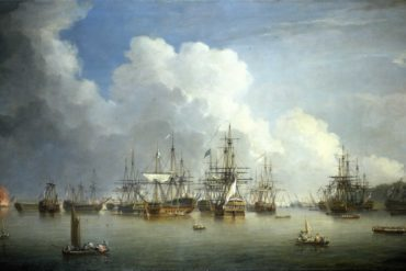 Spanish Fleet at Havana, 1762