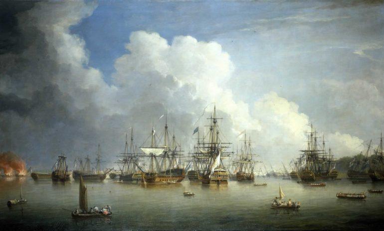 Spanish Fleet at Havana, 1762