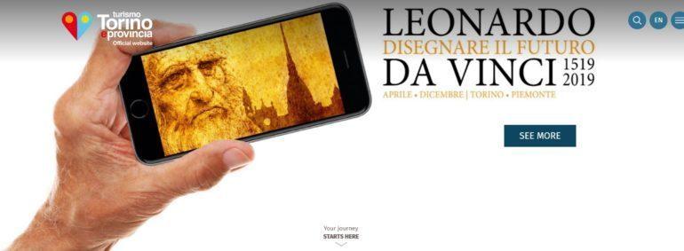 Leonardo Da Vinci, Gedenkjahr, Turin