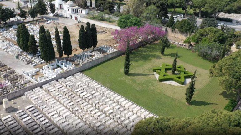 New Jewish Cemetery, Rhodes, Greece