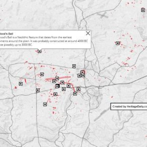 Interactive map Stonehenge