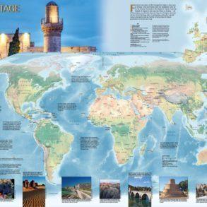 UNESCO World Heritage Map 2018-2019