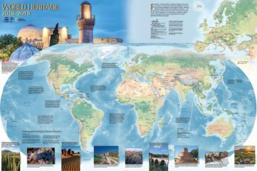 UNESCO World Heritage Map 2018-2019