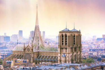 Notre-Dame Cathedral reconstruction