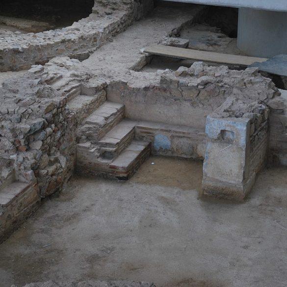 Excavation Site under the Acropolis Museum, Athens