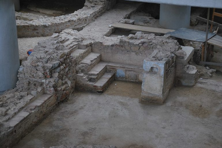 Excavation Site under the Acropolis Museum, Athens