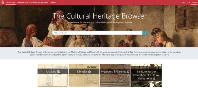 Serbian Cultural Heritage portal