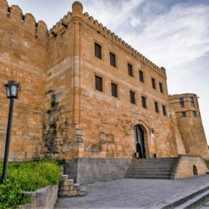 Derbent fortress of Naryn-Kala