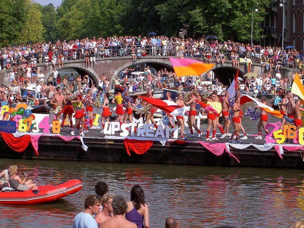 Amsterdam Gay Pride Canal Parade