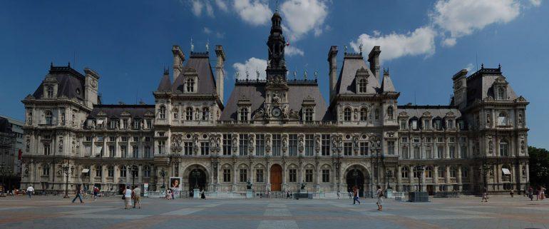Hôtel de Ville, Paris's city hall