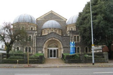 The former Cardiff Synagogue on Cathedral Road