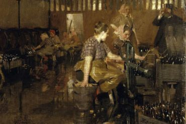 The little brewery - Anders Zorn (1890)