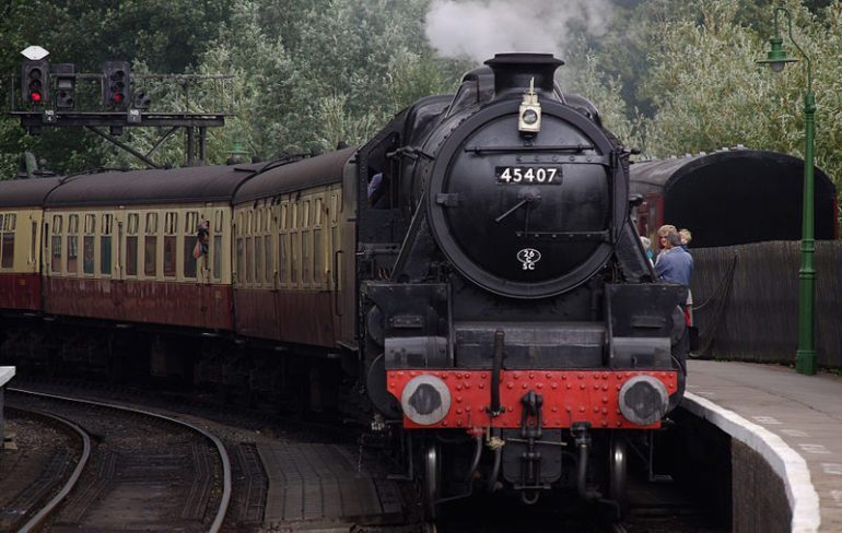 Heritage railway in North Yorkshire