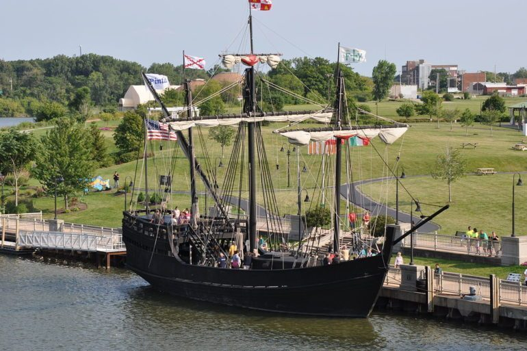 Replica of Columbus' Pinta