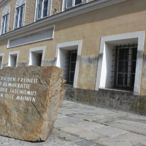 Hitler's Birth Place in Braunau am Inn, Austria