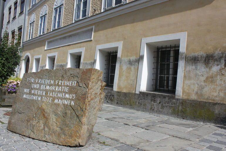 Lieu de naissance d'Hitler à Braunau am Inn, Autriche