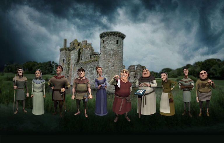 Caerlaverock Castle Quest app