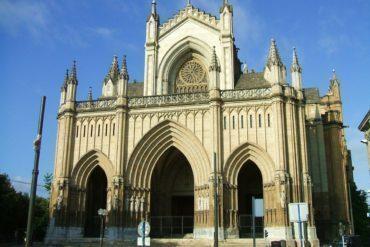 Catedral Santa María in Vitoria-Gasteiz, Spain,