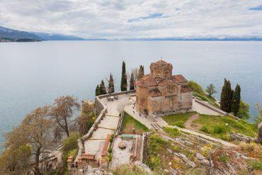 The Macedonian Orthodox church of Saint John at Kaneo