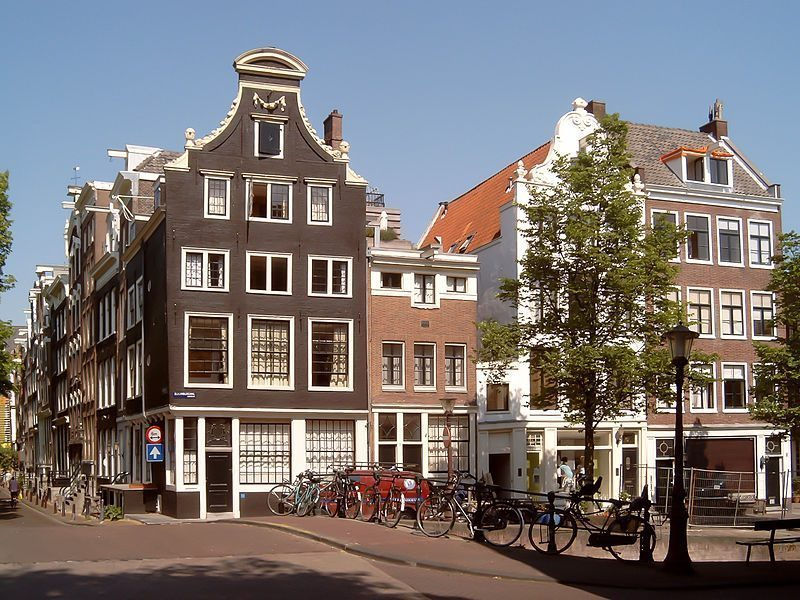 Herengracht, an upscale neighbourhood in the canal ring of Amsterdam, a UNESCO World Heritage Site.
