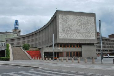 Y-block in Oslo, Norway. Petition against its demolition has nearly 50,000 signatures.