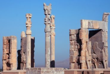 Gate of All Nations in Persepolis, Iran