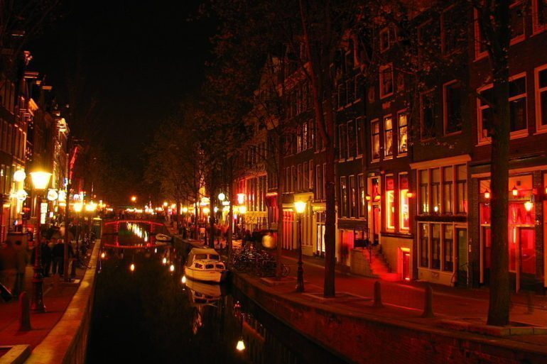 The Red Light District (De Wallen) has been in existence since the medieval times.