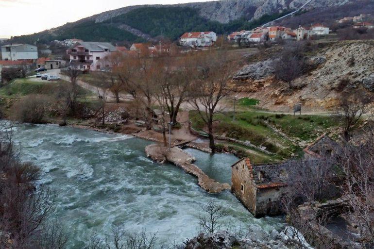 River Ruda From the -Dalmatia
