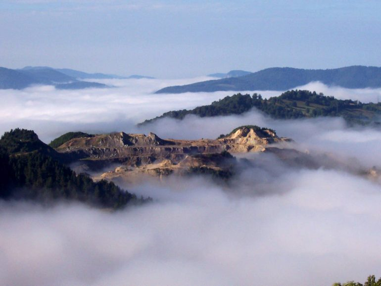 Rosia Montana is being listed by Romania for UNESCO World Heritage.