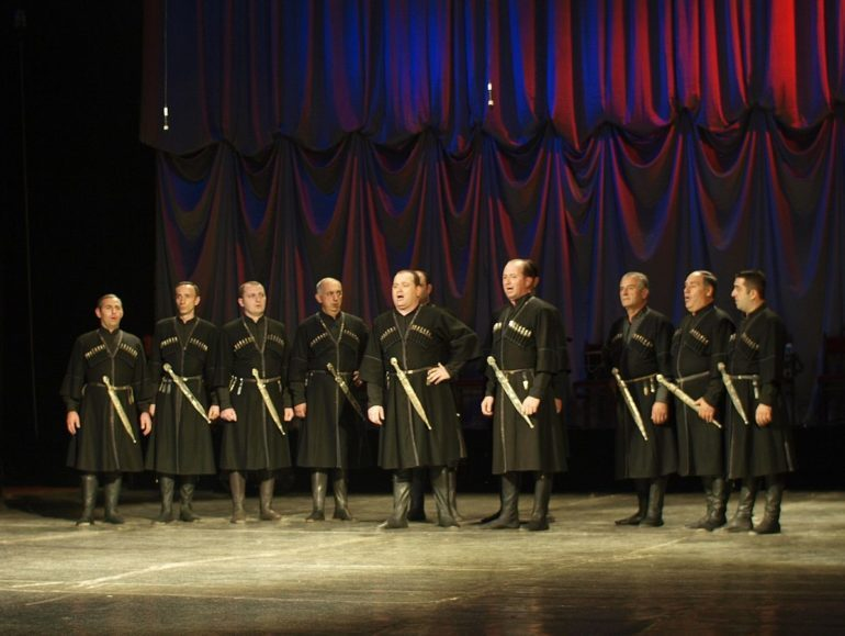 Georgian Polyphony Singers.