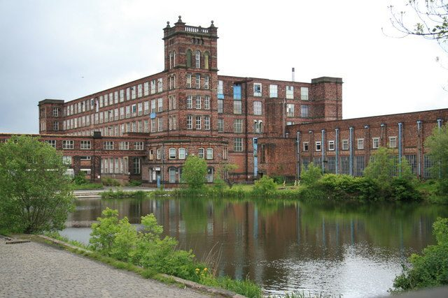 Mutual Mills in Heywood, England is being developed as a residential facility.