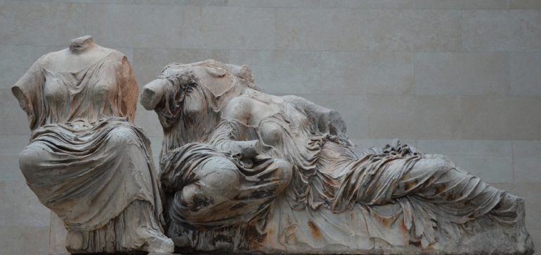 British Museum holds that the 5th Century BC scuptures were acquired through a legal agreement with Ottoman Empire. Greece says they were stolen.