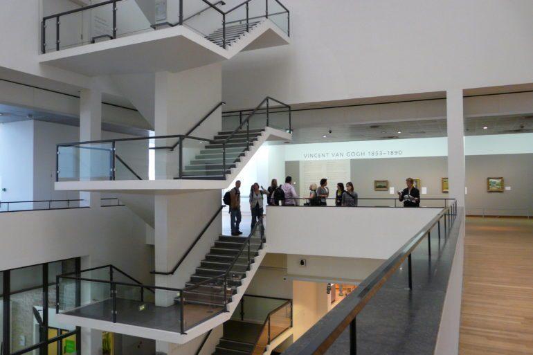 Van Gogh Museum bustling with visitors
