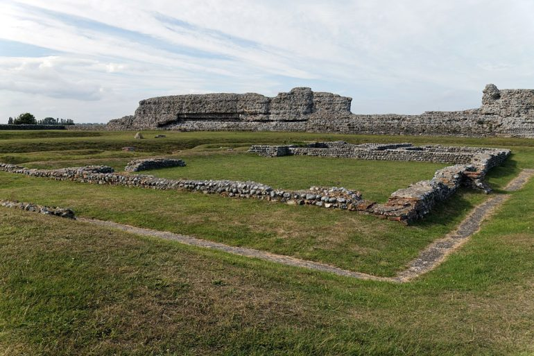 The Roman fort near the amphitheatre is an important site of the Empire's heritage in England.