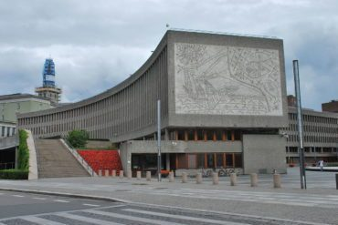 The endangerment of 'Y' Block in Oslo and National Theatre of Albania have sparked people's protests.